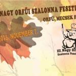 III. Nagy Orfűi Szalonna Fesztivál 2015